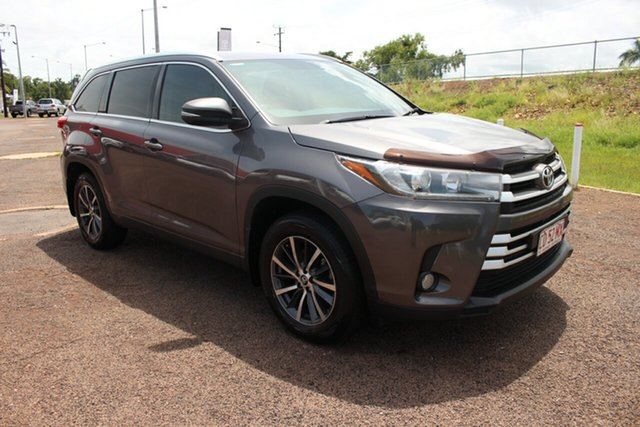Pre-Owned Toyota Kluger GSU55R GXL AWD Darwin, 2017 Toyota Kluger GSU55R GXL AWD Predawn Grey 8 Speed Sports Automatic Wagon