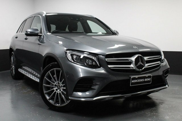 Used Mercedes-Benz GLC-Class C253 809MY GLC350 d Coupe 9G-Tronic 4MATIC Newcastle West, 2018 Mercedes-Benz GLC-Class C253 809MY GLC350 d Coupe 9G-Tronic 4MATIC Grey 9 Speed