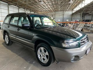 2003 Subaru Forester 79V MY03 XS AWD Green 4 Speed Automatic Wagon.