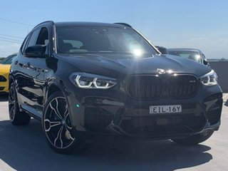2019 BMW X3 M F97 Competition M Steptronic M xDrive Black 8 Speed Sports Automatic Wagon.