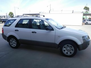 2005 Ford Territory SX TS White 4 Speed Sports Automatic Wagon.