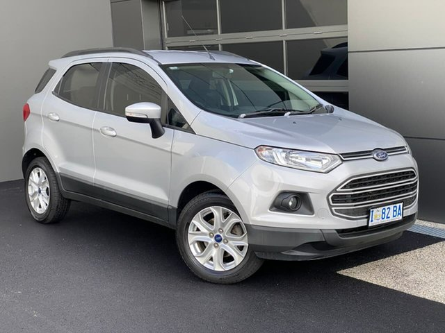 Used Ford Ecosport BK Trend PwrShift Moonah, 2015 Ford Ecosport BK Trend PwrShift Silver 6 Speed Sports Automatic Dual Clutch Wagon
