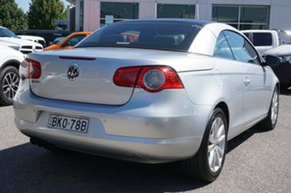 2008 Volkswagen EOS 1F MY09 147TSI DSG Silver 6 Speed Sports Automatic Dual Clutch Convertible