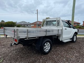 2014 Mazda BT-50 UP0YF1 XT White 6 Speed Sports Automatic Cab Chassis