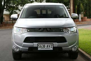 2013 Mitsubishi Outlander ZJ MY13 LS 4WD Silver 6 Speed Sports Automatic Wagon