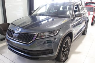 2020 Skoda Kodiaq NS MY21 132TSI DSG Quartz Grey 7 Speed Sports Automatic Dual Clutch Wagon.