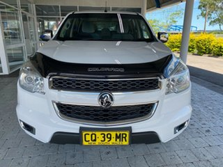 2015 Holden Colorado LTZ White Manual Dual Cab Utility.
