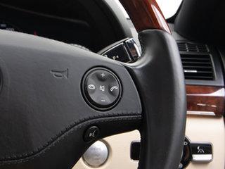 2007 Mercedes-Benz S500 221 07 Upgrade Black 7 Speed Automatic G-Tronic Sedan