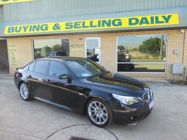 Used BMW 540i E60 540i Mandurah, 2006 BMW 540i E60 540i Black 6 Speed Automatic Sedan