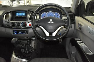 2007 Mitsubishi Triton ML MY08 GLX-R (4x4) White 5 Speed Manual 4x4 Double Cab Utility