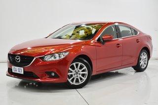 2016 Mazda 6 GL1031 Sport SKYACTIV-Drive Red/Black 6 Speed Sports Automatic Sedan.