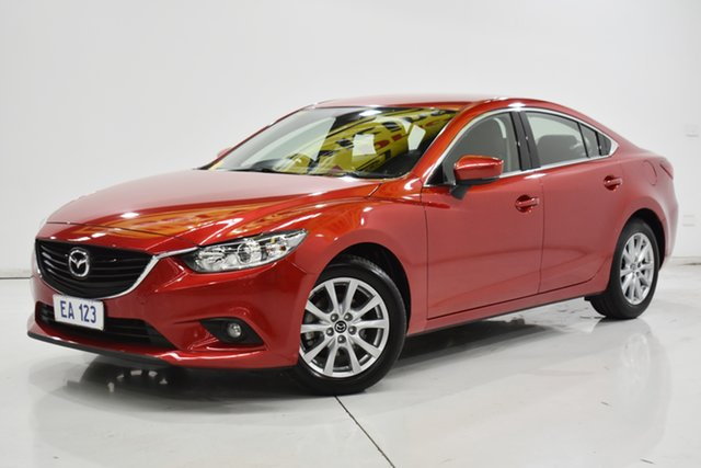 Used Mazda 6 GL1031 Sport SKYACTIV-Drive Brooklyn, 2016 Mazda 6 GL1031 Sport SKYACTIV-Drive Red/Black 6 Speed Sports Automatic Sedan