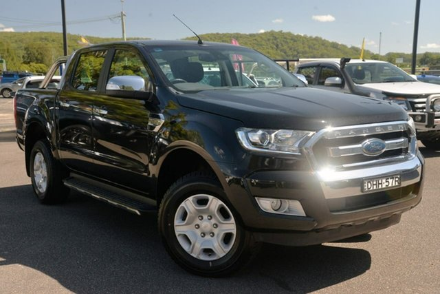 Used Ford Ranger PX MkII XLT Double Cab West Gosford, 2016 Ford Ranger PX MkII XLT Double Cab Black 6 Speed Sports Automatic Utility