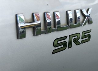 2007 Toyota Hilux KUN26R SR5 Silver 4 Speed Automatic Utility