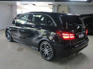 2017 Mercedes-Benz B-Class W246 808MY B180 DCT Black 7 Speed Sports Automatic Dual Clutch Hatchback