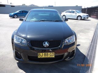 2011 Holden Commodore VE II SS-V Phantom Black 6 Speed Manual Utility.