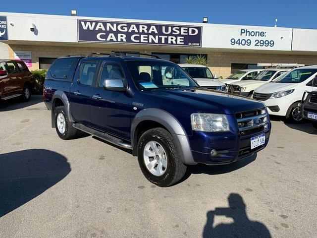 Used Ford Ranger PJ XLT (4x4) Wangara, 2007 Ford Ranger PJ XLT (4x4) Blue 5 Speed Automatic Dual Cab Pick-up