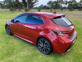 2018 Toyota Corolla ZWE211R ZR E-CVT Hybrid Red 10 Speed Constant Variable Hatchback Hybrid