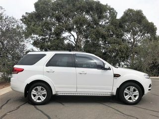 2014 Ford Territory SZ TX Seq Sport Shift AWD White 6 Speed Sports Automatic Wagon.