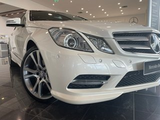 2013 Mercedes-Benz E-Class C207 MY12 E350 BlueEFFICIENCY 7G-Tronic + Elegance White 7 Speed.