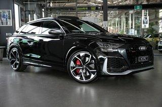 2020 Audi RS Q8 4M F1 MY21 TFSI Tiptronic Quattro Black 8 Speed Sports Automatic Wagon.