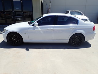 2011 BMW 3 Series E90 MY11 323i Steptronic Lifestyle White Crystal 6 Speed Sports Automatic Sedan