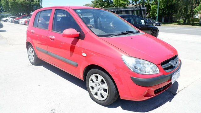 Used Hyundai Getz TB MY09 S St James, 2011 Hyundai Getz TB MY09 S Red 4 Speed Automatic Hatchback