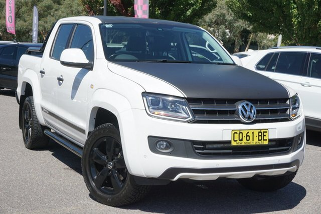 Used Volkswagen Amarok 2H MY15 TDI420 4MOTION Perm Canyon Phillip, 2015 Volkswagen Amarok 2H MY15 TDI420 4MOTION Perm Canyon Candy White 8 Speed Automatic Utility