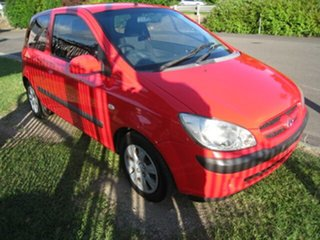 2006 Hyundai Getz TB Upgrade 1.6 Red 4 Speed Automatic Hatchback