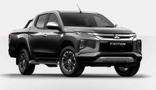 2020 Mitsubishi Triton MR MY21 GLS Double Cab Grey 6 Speed Sports Automatic Utility