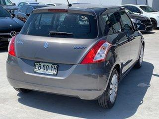 2014 Suzuki Swift FZ MY14 GL Grey 4 Speed Automatic Hatchback.