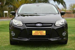 2012 Ford Focus LW Sport Black 5 Speed Manual Hatchback.