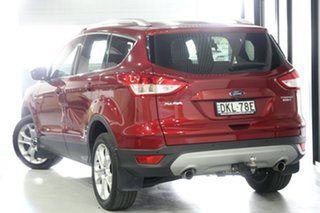 2016 Ford Kuga TF MY16.5 Trend PwrShift AWD Red 6 Speed Sports Automatic Dual Clutch Wagon.