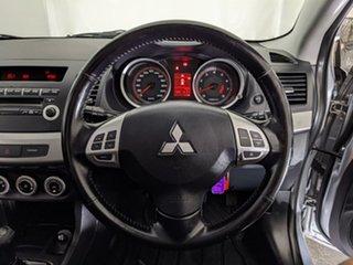 2007 Mitsubishi Lancer CJ MY08 VR Silver 5 Speed Manual Sedan