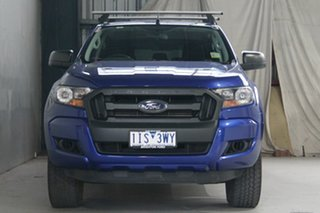 2016 Ford Ranger PX MkII XL 2.2 Hi-Rider (4x2) Blue 6 Speed Automatic Crew Cab Pickup