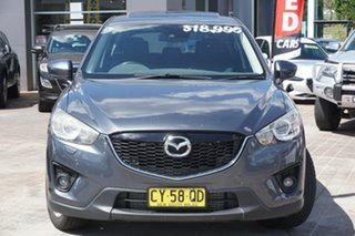 2012 Mazda CX-5 KE1021 Grand Touring SKYACTIV-Drive AWD Grey 6 Speed Sports Automatic Wagon.