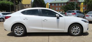 2017 Mazda 3 Maxx White 6 Speed Manual Sedan.
