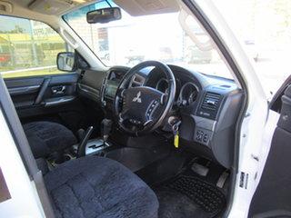 2017 Mitsubishi Pajero NX MY17 GLX White 5 Speed Automatic Wagon