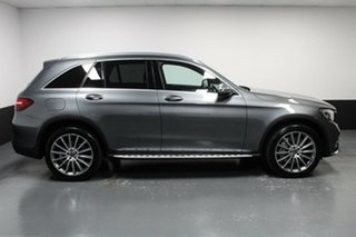 2018 Mercedes-Benz GLC-Class C253 809MY GLC350 d Coupe 9G-Tronic 4MATIC Grey 9 Speed