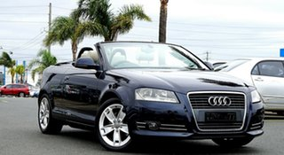 2009 Audi A3 8P MY10 TFSI S Tronic Ambition Dark Blue 6 Speed Sports Automatic Dual Clutch.