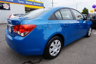 2011 Holden Cruze JH Series II MY11 CD Perfect Blue 5 Speed Manual Sedan