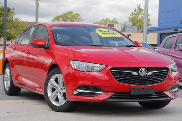 Used Holden Commodore ZB MY18 LT Liftback Aspley, 2018 Holden Commodore ZB MY18 LT Liftback Red 9 Speed Sports Automatic Liftback