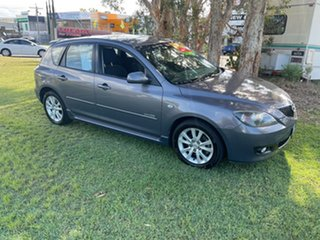 2007 Mazda 3 BK10F2 MZR-CD Silver 6 Speed Manual Hatchback