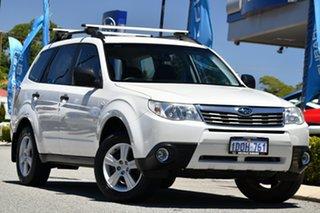 2011 Subaru Forester S3 MY11 XS AWD Satin White Pearl 5 Speed Manual Wagon.