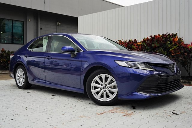 Used Toyota Camry ASV70R Ascent Cairns, 2019 Toyota Camry ASV70R Ascent Blue 6 Speed Sports Automatic Sedan