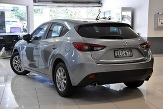 2014 Mazda 3 BM5476 Maxx SKYACTIV-MT Silver 6 Speed Manual Hatchback.