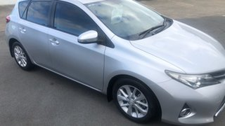 2014 Toyota Corolla ZRE182R Ascent Sport Classic Silver 6 Speed Manual Hatchback.