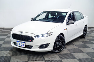 2014 Ford Falcon FG X XR6 Turbo White 6 Speed Sports Automatic Sedan.