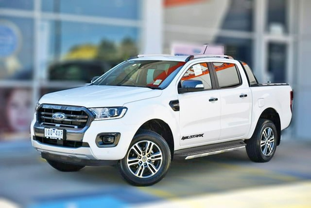 Used Ford Ranger PX MkIII 2020.25MY Wildtrak Berwick, 2019 Ford Ranger PX MkIII 2020.25MY Wildtrak White 10 Speed Sports Automatic Double Cab Pick Up