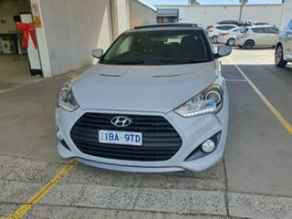 2014 Hyundai Veloster FS3 SR Coupe Turbo Battleship 6 Speed Sports Automatic Hatchback.